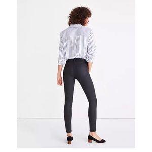 Madewell Coated High Riser Skinny Jeans